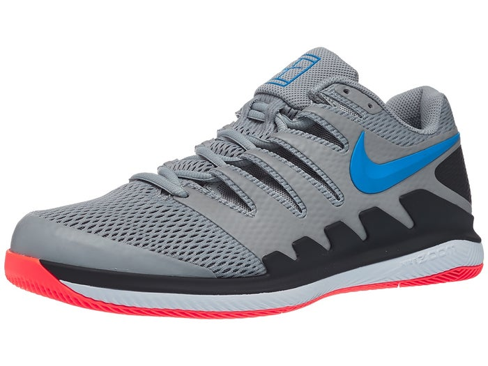 new concept presenting closer at Chaussures Homme Nike Air Zoom Vapor X Gris/Bleu - Tennis ...
