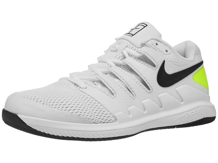 Entender construir transmisión  Nike Air Zoom Vapor X White/Black/Volt Men's Shoe - Tennis Warehouse Europe