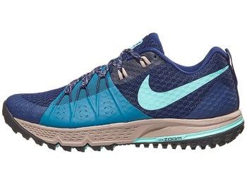 3535aa052bf Nike Zoom Wildhorse 4 Women s Shoes Blue Void Green - Tennis Warehouse  Europe