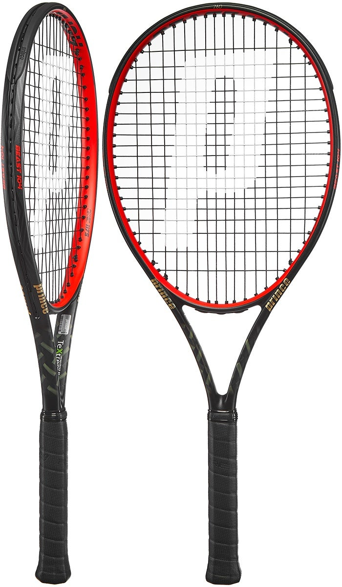 Prince Beast 104 Racket Red 260g - Tennis Warehouse Europe