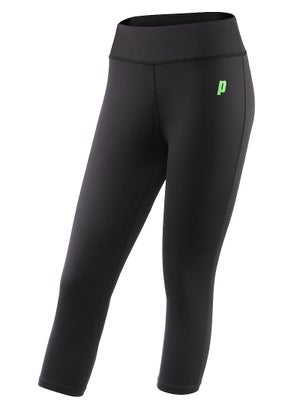 Prince Women's Capri Tight Black M