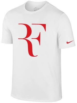3c5ca3b2e9df7 Roger Federer RF Foundation Large Logo Nike T-Shirt - Tennis ...
