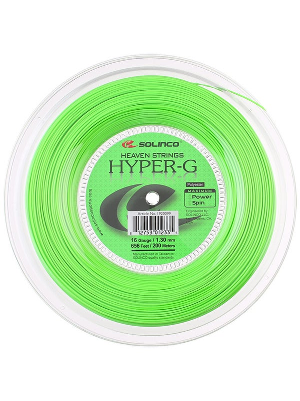 Solinco Hyper-G 1 30/16 String Reel - 200m - Tennis