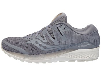 65fb8bf00388 Chaussures Homme Saucony Ride ISO Gris Shade - Tennis Warehouse Europe