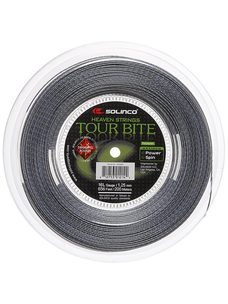 Solinco Tour Bite Diamond Rough Reel Tennis Racquet String