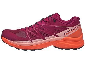 ... 8af29 ebdd9 Salomon Wings Pro 3 Women s Shoes Red Coral - Tennis  Warehouse Europe best ... ef5e8fe853