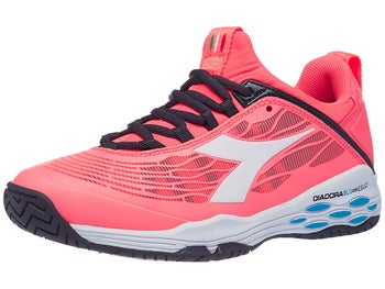 bc2f78bb Diadora Speed Blushield Fly AG Coral/White Women's Shoe - Tennis ...