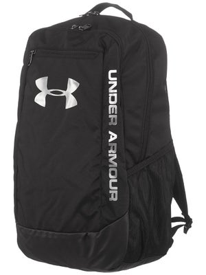 3e8034fbef Under Armour Hustle Backpack II Black Bag - Tennis Warehouse Europe