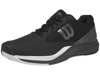 Zapatillas Hombre Wilson Rush Pro 3.0 Tierra Batida Negro/Blanco