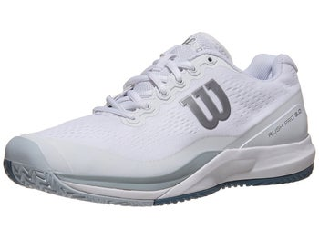 83bc0e22d Wilson Rush Pro 3.0 White Blue Men s Shoe - Tennis Warehouse Europe