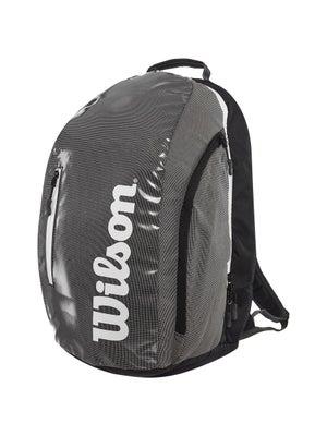 74c3e033ef Wilson Super Tour Backpack (Black Grey) Bag - Tennis Warehouse Europe