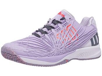d77469c771d0 Wilson Kaos 2.0 Lila White Coral Women s Shoe - Tennis Warehouse Europe