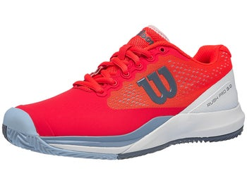 new concept 891ff a0ccf Wilson Rush Pro 3.0 Clay Coral Blue Women s Shoe - Tennis Warehouse Europe