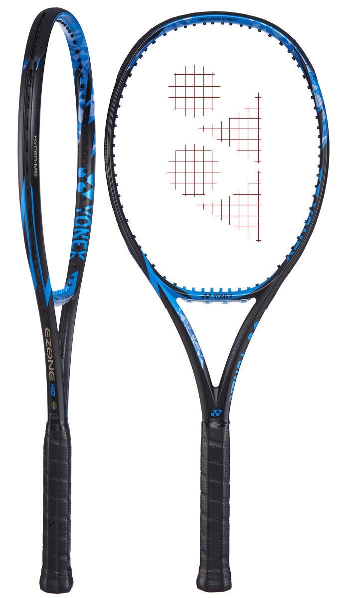 Yonex EZONE 98 Bright Blue (305g) Racket - Tennis Warehouse Europe