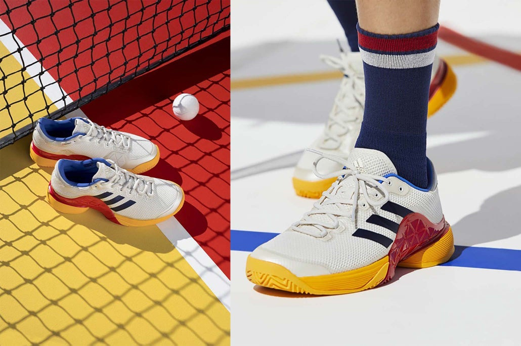 9ccfb3cdb Pharrell Williams gets his hands on the Barricade 2017 to create a shoe  that breaks the mold. Updated with maximum levels of comfort and stability  ...